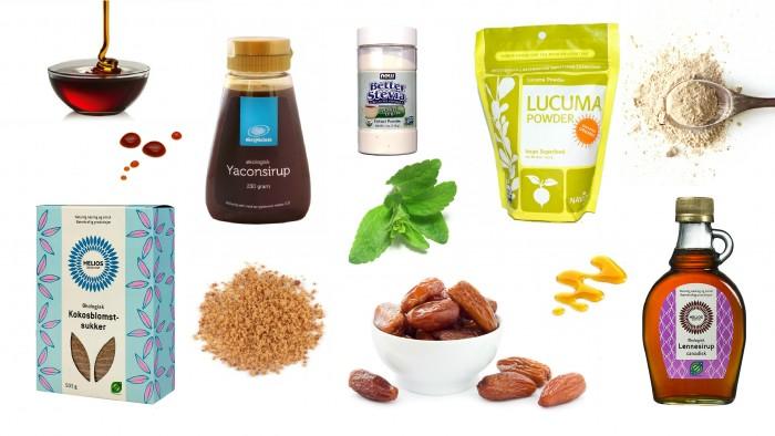 Miniguide til sunnere søtning