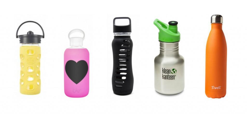 Fem fine flasker uten skadelig kjemi